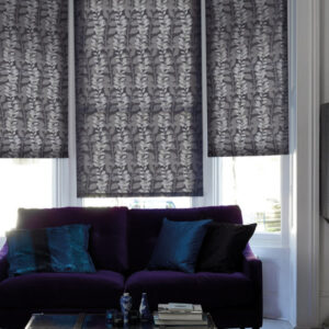 Bay window roller blinds in darlington
