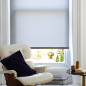 Dining room roller blinds