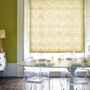 Dining room roller blind